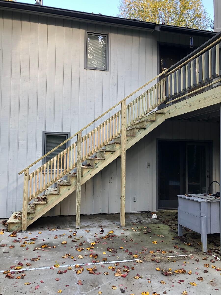 New Stairs