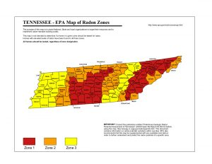 Tennessee radon